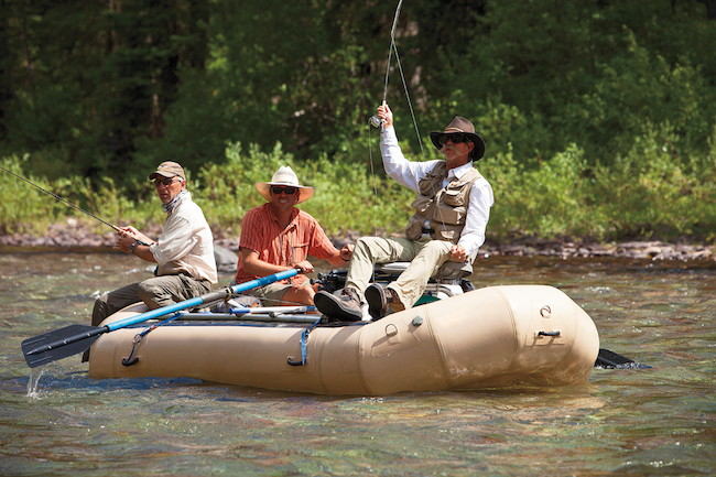fly fishing Paws Up