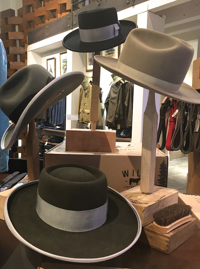 William Adler for Will Leather Goods Hats