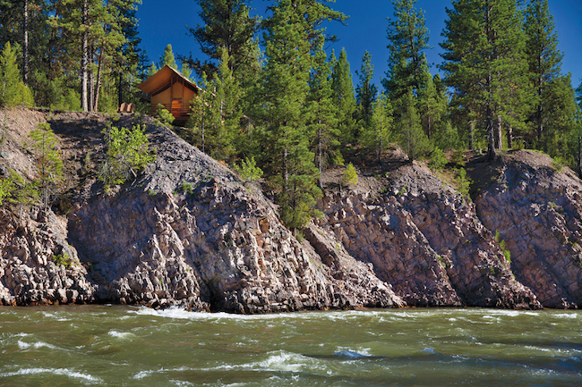 Cliffside Camp at The Resort at Paws Up