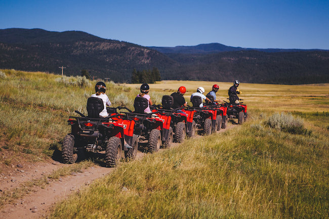 ATV at The Resort at Paws Up