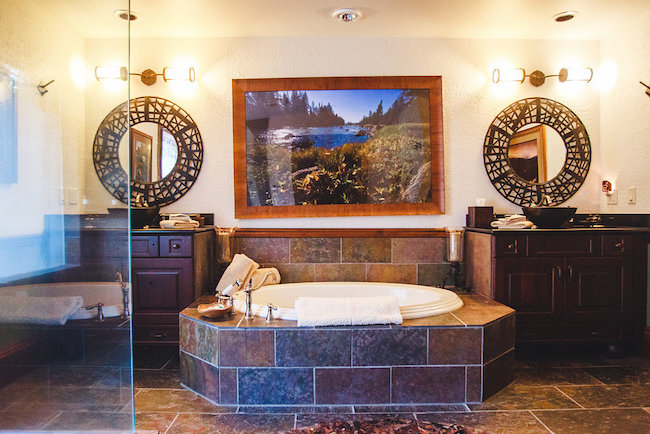 The Resort at Paws Up bathrooms