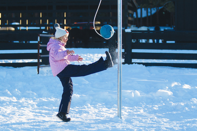kids winter at The Resort at Paws Up