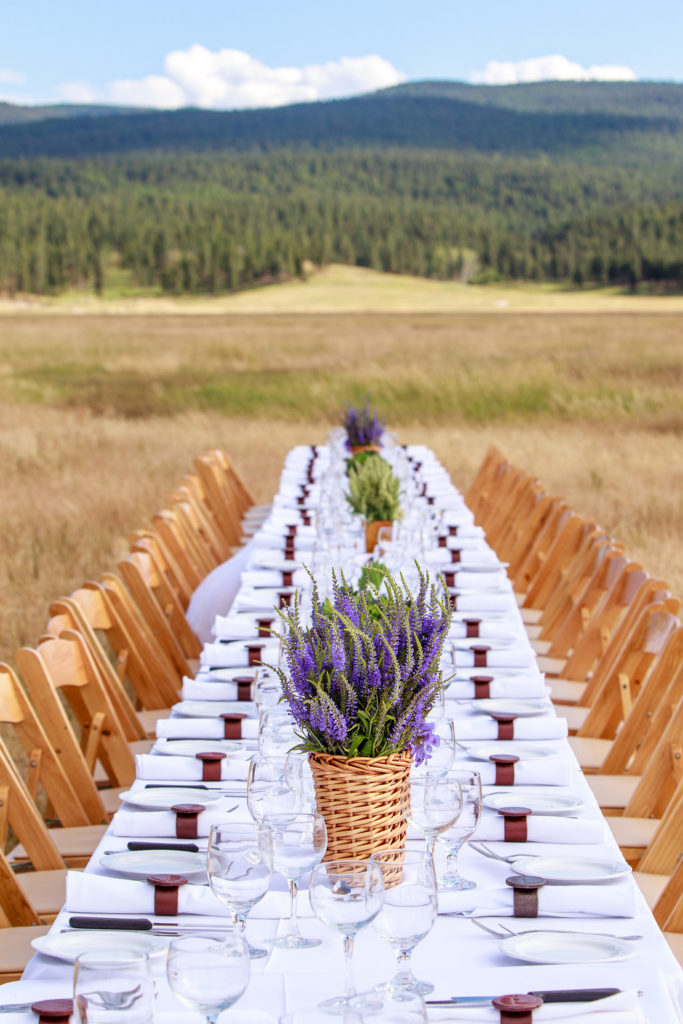 Paws Up long table