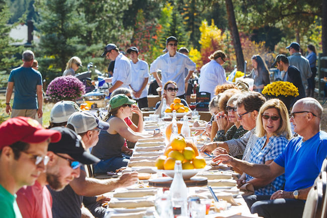 Montana long table events