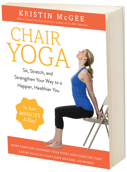 chair yoga book